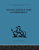 Social Science and Government