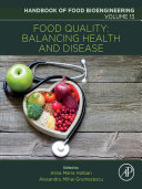 Food Quality Balancing Health And Disease