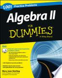 Algebra II  1 001 Practice Problems For Dummies    Free Online Practice