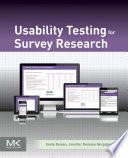 Usability Testing for Survey Research