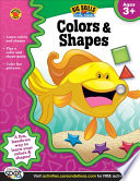 Colors   Shapes Workbook  Grades Preschool   K