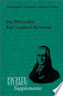 illustration du livre Die Philosophie Karl Leonhard Reinholds