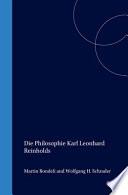 Die Philosophie Karl Leonhard Reinholds