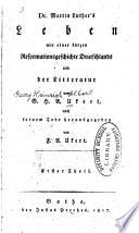Dr. Martin Luther's Leben