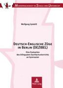 Deutsch Englische Z  ge in Berlin  DEZIBEL