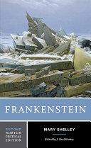 Frankenstein  Second Edition   Norton Critical Editions
