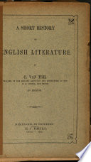 A Short History of English Litterature. 2nd Edition