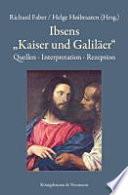 """Ibsens """"Kaiser und Galiläer"""""""