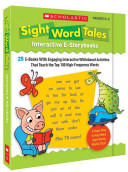 Sight Word Tales Interactive E Storybooks