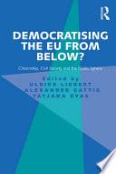 Democratising the EU from Below