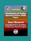 21st Century Peacekeeping And Stability Operations Institute Pksoi Papers Smart Research