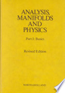 Analysis  Manifolds  and Physics