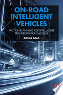On Road Intelligent Vehicles book
