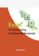 Excel for Accounting   Finance Professionals