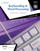 Keyboarding   Word Processing  Complete Course  Lessons 1 120