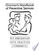 Clinician s Handbook of Preventive Services