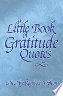 The Little Book Of Gratitude Quotes