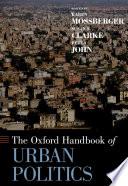 The Oxford Handbook of Urban Politics