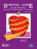 Survival Guide for the First Year Special Education Teacher