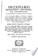 Diccionario geográfico universal