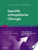 Spezielle orthopädische Chirurgie