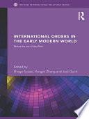 International Orders in the Early Modern World