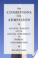 The Conditions for Admission Book PDF