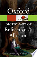 Oxford Dictionary of Reference and Allusion