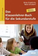 Das Klassenlehrer-Buch für die Sekundarstufe