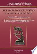 Anatomy of Bone System. The manual for medical students / Анатомия костной системы. Учебное пособие для медицинских вузов (специальность «Лечебное дело»)