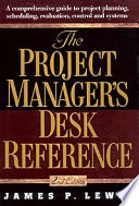 The Project Manager s Desk Reference