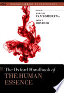 download ebook the oxford handbook of the human essence pdf epub