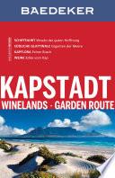 Baedeker Reisef  hrer Kapstadt  Winelands  Garden Route