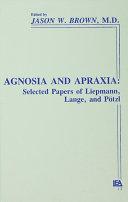 download ebook agnosia and apraxia pdf epub