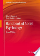 Handbook of Social Psychology