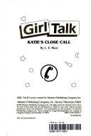 Katie s Close Call