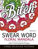Swear Word Floral Mandala