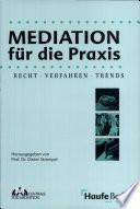 Mediation f  r die Praxis