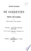 Geschiedenis van de gemeenten der provincie Oost-Vlaanderen