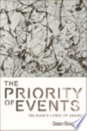 The Priority of Events  Deleuze s Logic of Sense