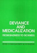 Deviance and Medicalization