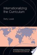 Internationalizing the Curriculum