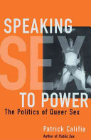 Ebook Speaking Sex to Power Epub Patrick Califia Apps Read Mobile
