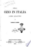 Dell ozio in Italia libri quattro