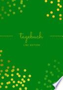 Tagebuch Sch N A5 Liniert 100 Seiten 90g M2 Soft Cover Goldene Punkte Gr N Fsc Papier