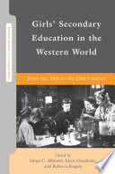 Girls  Secondary Education in the Western World