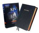 KJV Concord Reference Bible  Black Edge Lined Goatskin Leather  Red Letter Text KJ566 XRE Black Goatskin Leather RCD266
