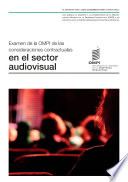 Wipo Review Of Contractual Considerations In The Audiovisual Sector Spanish Version