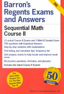 Barron s Regents Exams and Answers Sequential Math Course II
