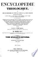 Encyclopédie théologique: Dictionnaire raisonné de diplomatique chrétienne
